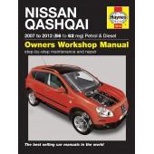 Haynes Nissan Qashqai Petrol & Diesel 2007 on