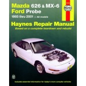 Haynes manual: Mazda 626 and MX-6 and Ford Probe (93-01)