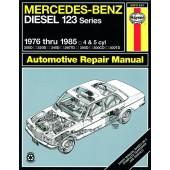 Haynes manual: Mercedes-Benz Diesel 123 Series (76-85)