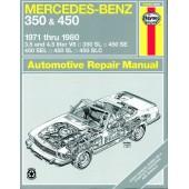 Haynes manual: Mercedes-Benz 350 and 450 (71-80)