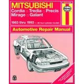 Haynes Mitsubishi Cordia, Tredia, Galant, Precis & Mirage (83 - 93)