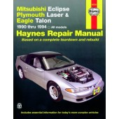 Haynes manual: Mitsubishi Eclipse, Plymouth Laser and Eagle Talon (90-94)