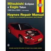 Haynes manual: Mitsubishi Eclipse and Eagle Talon (95-05)