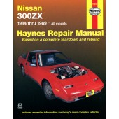 Haynes manual: Nissan 300ZX Turbo and non-Turbo models (84-89)