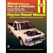 Haynes manual: Nissan/Datsun Pick-ups and Pathfinder (80-97)