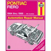 Haynes Pontiac Fiero (84 - 88)