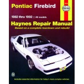 Haynes Pontiac Firebird (82 - 92)
