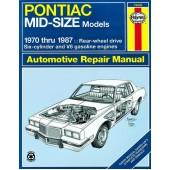 Haynes Pontiac Mid-Size Models (70 - 87)