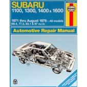 Haynes Subaru 1100, 1300, 1400 & 1600 (71 - 79)
