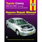 Haynes Toyota Camry 2002 to 2006