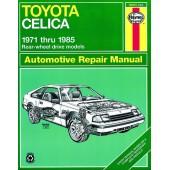 Haynes Toyota Celica Rear-wheel drive (71 - 85)