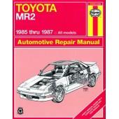 Haynes manual: Toyota MR2 (85-87)
