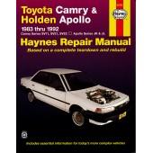 Haynes Toyota Camry & Holden Apollo (83 - 92)