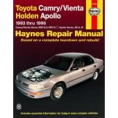 Haynes Toyota Camry & Vienta and Holden Apollo (93 - 96)