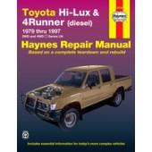 Haynes manual: Toyota Hi-Lux & 4Runner Diesel (79-96)