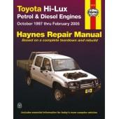 Haynes manual: Toyota Hi-Lux Petrol & Diesel Engines (Oct 97 to Feb 05) (USA)