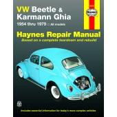 Haynes VW Beetle & Karmann Ghia (54 - 79)