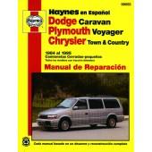 Haynes Dodge Caravan, Plymouth Voyager, Chrysler Town & Country (84 - 95)