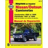 Haynes Nissan/Datsun Camionetas & Pathfinder (80 - 96)