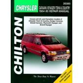 Haynes manual: Dodge Caravan/Voyager/Town & Country (84-95)