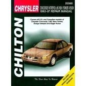 Haynes Chrysler Concorde/Intrepid/New Yorker/LHS/Vision (93 - 97)