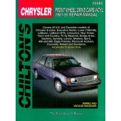 Haynes Chrysler Front Wheel Drive Cars  4 Cyl (81 - 95)