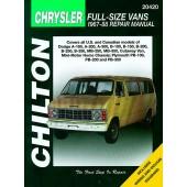 Haynes Dodge & Plymouth Vans (67 - 88)