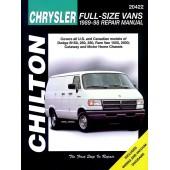 Haynes Dodge & Plymouth Vans (89 - 98)