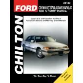 Haynes Ford Crown Victoria/Grand Marquis 89-10 (Chilton)