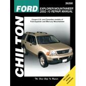 Haynes Ford Explorer & Mercury Mountainer 02-10 (Chilton)