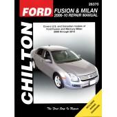 Haynes Ford Fusion/Mercury Milan '06 - '10