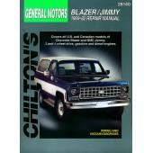 Haynes Chevrolet Blazer/Jimmy (69 - 82)