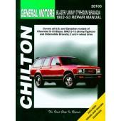 Haynes Chevrolet Blazer/Jimmy/Typhoon/Bravada (83 - 93)