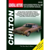 Haynes General Motors Full-size Buick/Oldsmobile/Pontiac (75 - 90)