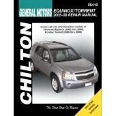 Haynes Chevrolet Equinox & Pontiac Torrent 05-09 (Chilton