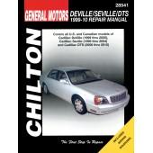 Haynes Cadillac Deville / Seville / DTS 99-10 (Chilton)