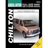 Haynes Chevrolet & GMC Full Size Vans Chilton Automotive