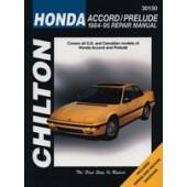 Haynes Honda Accord/Prelude (84 - 95)