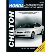 Haynes Honda Accord/Prelude (96 - 00)