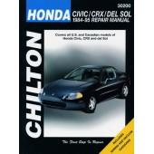 Haynes manual: Honda Civic, CRX and del Sol (84-95)