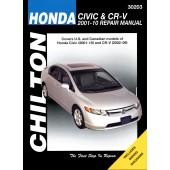Haynes Honda Civic & CRV '01 - '10