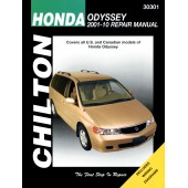 Haynes Honda Odyssey Chilton Automotive Repair Manual
