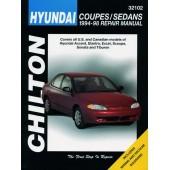 Haynes manual: Hyundai Coupes/Sedans (94-98)