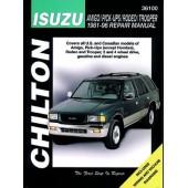 Haynes manual: Isuzu Amigo/Pick-Ups/Rodeo/Trooper (81-96)