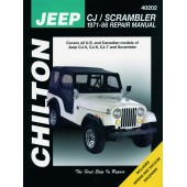 Haynes Jeep CJ/Scrambler (71 - 86)