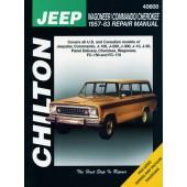 Haynes Jeep Wagoneer/Commando/Cherokee (57 - 83)