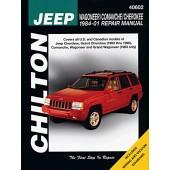 Haynes manual: Jeep Wagoneer/Comanche/Cherokee (84-01)