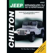 Haynes manual: Jeep Wrangler/YJ (87-95)