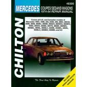Haynes manual: Mercedes-Benz Coupes/Sedans/Wagons (74-84)