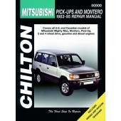 Haynes Mitsubishi Pick-Ups and Montero (83 - 95)